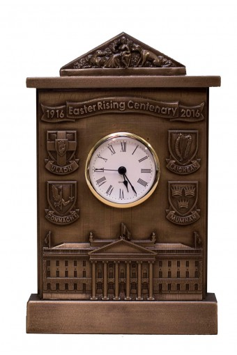 1916 - 2016 Easter Rising Centenary Bronze Clock