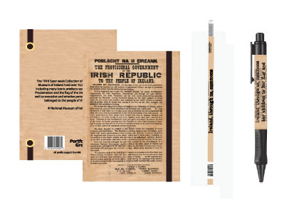 The Proclamation A5 Hardback Notebook Pen and Pencil Set