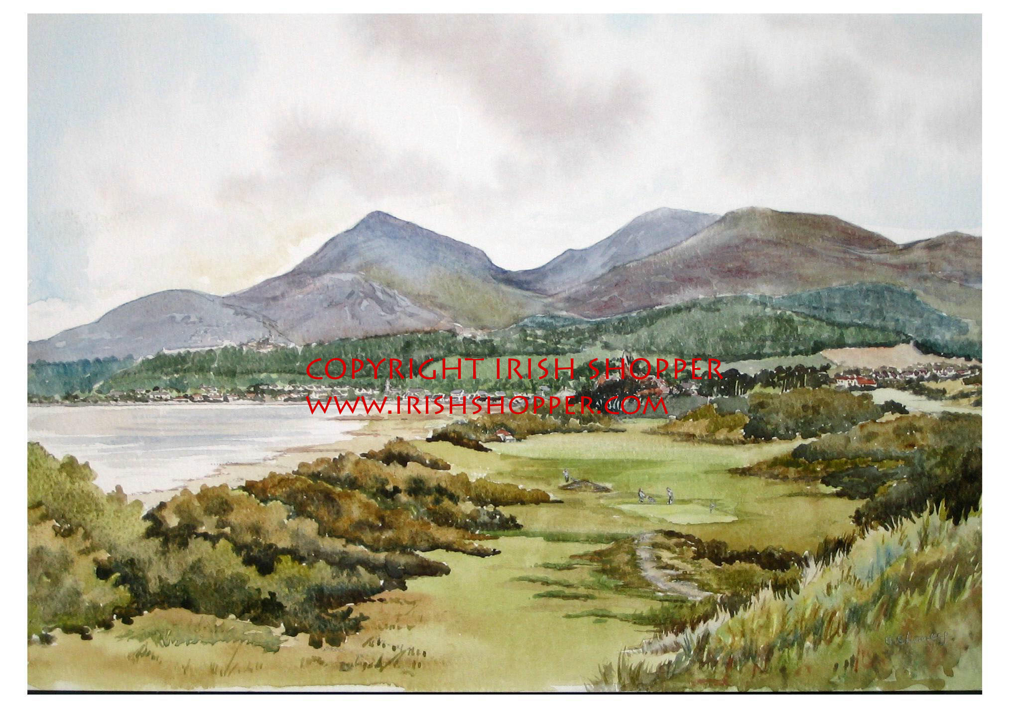 Royal County Down, Golf Course Newcastle