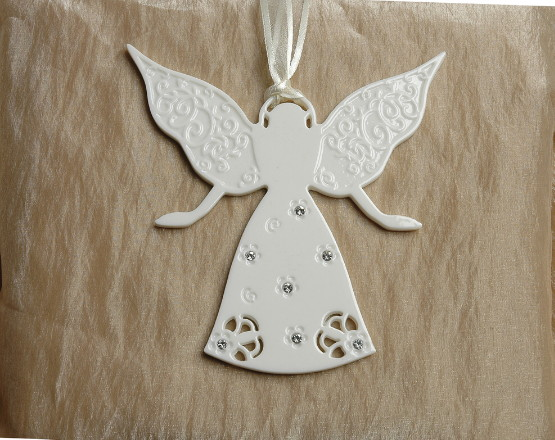 Guardian Angel/Porcelain Decoration