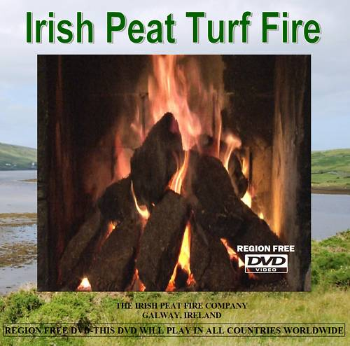 Irish Peat Turf Fire DVD