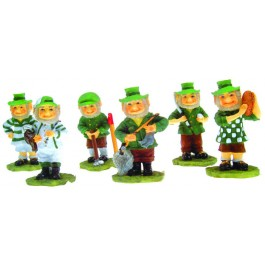 Sports Leprechauns - Assorted Set of 6