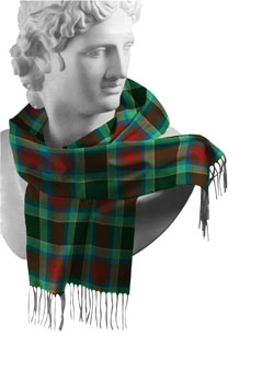 Waterford County Tartan Lambswool Scarf