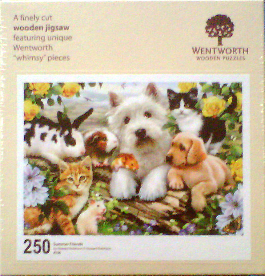 Westie and Friends 250 Pce Wooden Jigsaw Puzzle