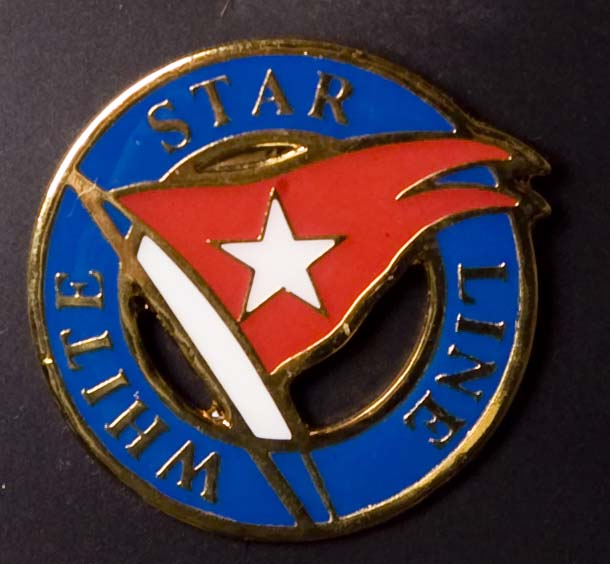 White Star Line Pin Badge