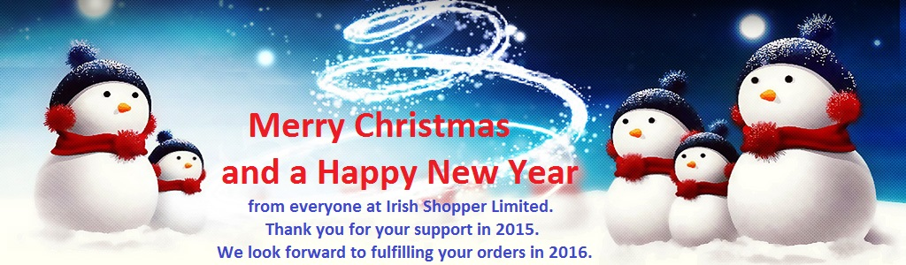 Irish Shopper Limited Christmas Banner