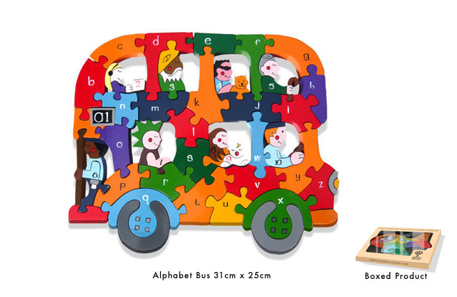 Alphabet Bus Jigsaw