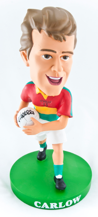 Carlow Gaelic Football Bobblehead Figurine | Irish Sport