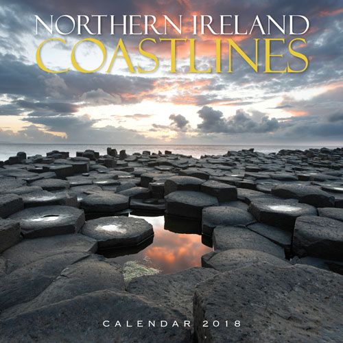 Northern Ireland Coastlines Calendar 2018