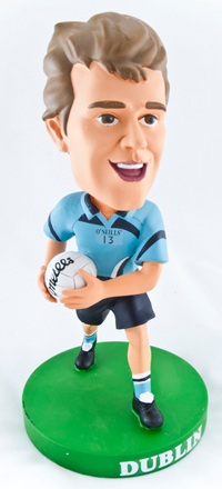 Dublin Gaelic Football Bobblehead Figurine | Irish Sport