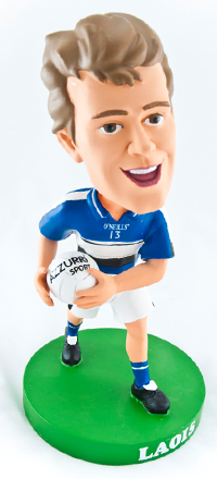 Laois Gaelic Football Bobblehead Figurine | Irish Sport