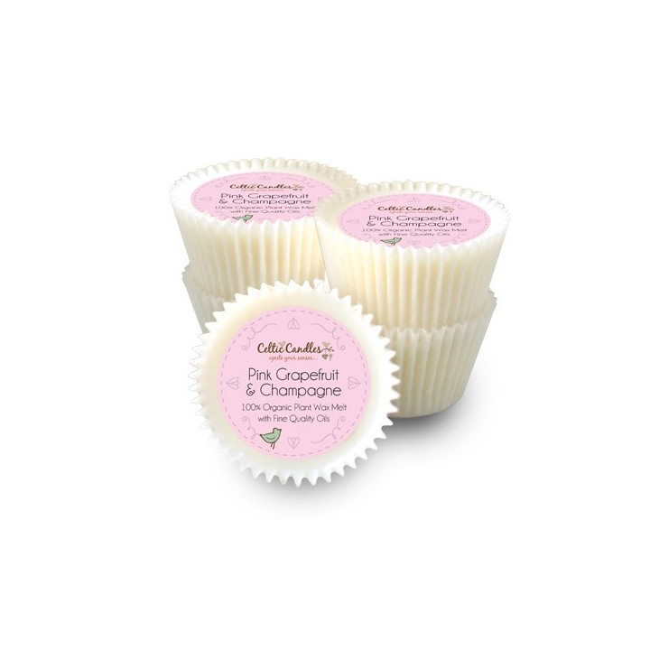 Large Pink Grapefruit and Champagne Wax Melts - Pack of 5