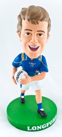 Longford Gaelic Football Bobblehead Figurine | Irish Sport