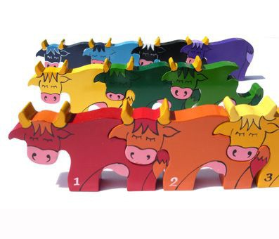 Number Cow Row Jigsaw