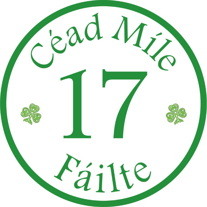 *Irish Personalized House Signs